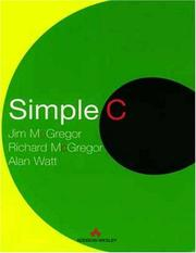 Cover of: Simple C