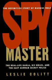 Cover of: Spymaster
