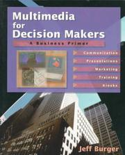 Cover of: Multimedia for decision makers