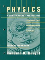 Cover of: Physics: A Contempoary Perspective