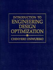 Cover of: Introduction to Engineering Design Optimization