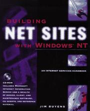 Cover of: Building net sites with Windows NT