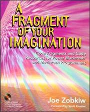 Cover of: A fragment of your imagination