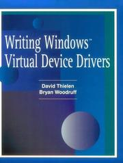 Cover of: Writing Windows Virtural Device Drivers (2nd Edition) | David Thielen