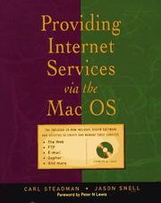 Cover of: Providing Internet services via the Mac OS | Carl Steadman