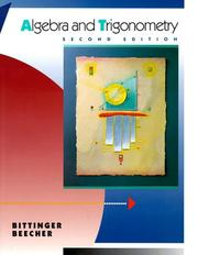 Cover of: Algebra & Trigonometry