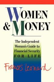Cover of: Women and money