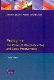 Cover of: Prolog ++