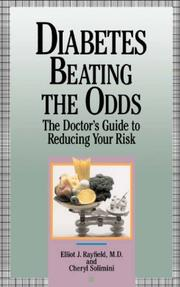 Cover of: Diabetes, beating the odds | Elliot J. Rayfield