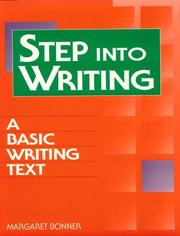 Cover of: Step into Writing | Margaret Bonner