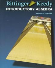 Cover of: Introductory algebra | Judith A. Beecher