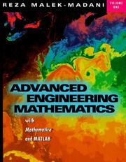 Cover of: Advanced Engineering Mathematics with Mathematica and Matlab, Vol. 1