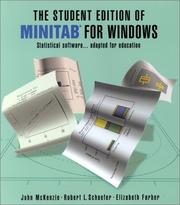 Cover of: The Student Edition of Minitab for Windows