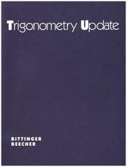 Cover of: Trigonometry Update | Judith A. Beecher, Beecher