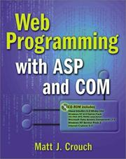 Cover of: Web programming with ASP and COM