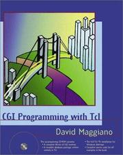 Cover of: CGI programming with Tcl