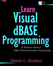 Cover of: Learn Visual dBASE programming