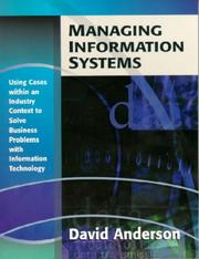 Cover of: Managing Information Systems