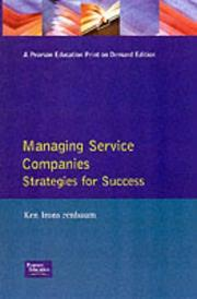 Cover of: Managing Service Companies