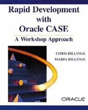 Cover of: Rapid development with Oracle CASE