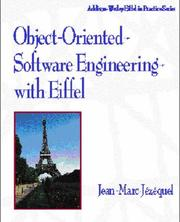 Cover of: Object-oriented software engineering with Eiffel