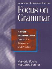 Cover of: Focus on grammar