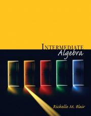 Cover of: Intermediate Algebra (Blair Developmental Mathematics Series)