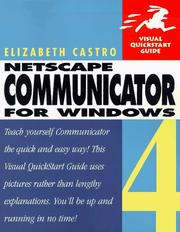 Cover of: Netscape Communicator 4 for Windows
