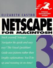 Cover of: Netscape 3 for Macintosh