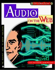 Cover of: Audio on the Web | Jeff Patterson