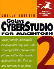 Cover of: GoLive CyberStudio 2 for Macintosh