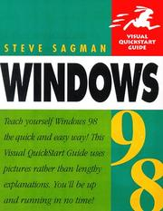 Cover of: Windows 98 Visual Quickstart