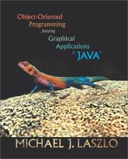Cover of: Object-Oriented Programming featuring Graphical Applications in Java
