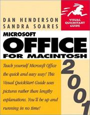 Cover of: Microsoft Office 2001 for Macintosh