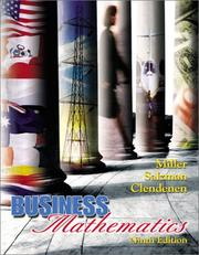 Cover of: Business mathematics | Charles David Miller
