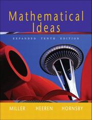Cover of: Mathematical Ideas