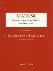 Cover of: Statdisk Student Laboratory Manual and Workbook to Accompany Elementary Statistics