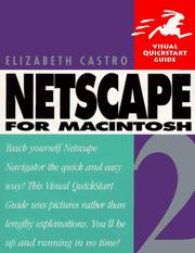 Cover of: Netscape 2 for Macintosh