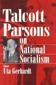 Cover of: On National Socialism (Social Institutions and Social Change)
