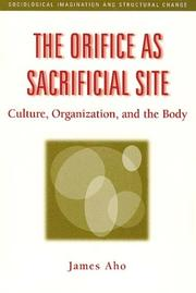 Cover of: The Orifice as Sacrifical Site