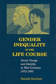 Cover of: Gender Inequality in the Life Course