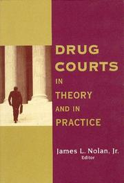 Cover of: Drug Courts