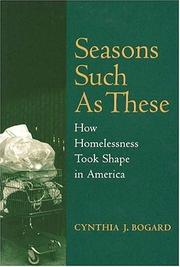 Cover of: Seasons such as these | Cynthia J. Bogard