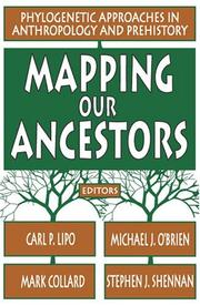 Cover of: Mapping Our Ancestors |