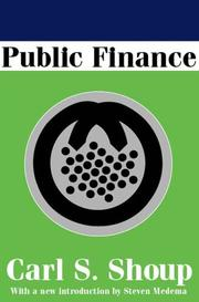Cover of: Public Finance | Carl Shoup