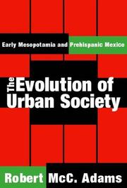 Cover of: The Evolution of Urban Society