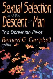 Cover of: Sexual Selection and the Descent of Man