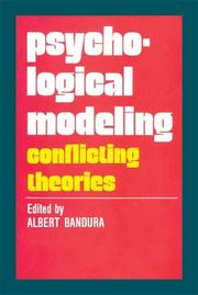 Cover of: Psychological Modeling