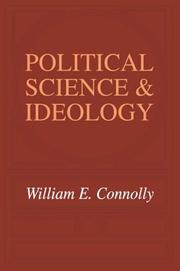 Cover of: Political Science and Ideology