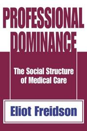 Cover of: Professional Dominance